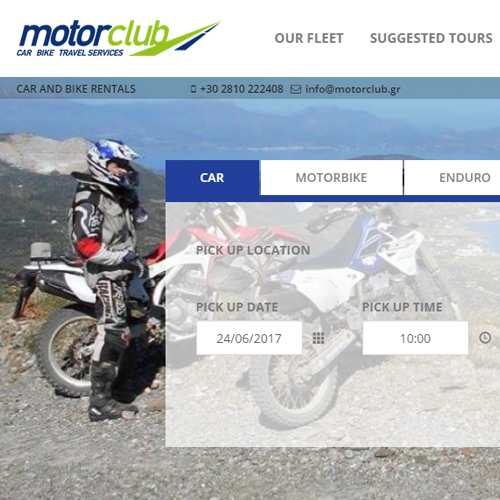 Motor Club Car & Bike Travel Services